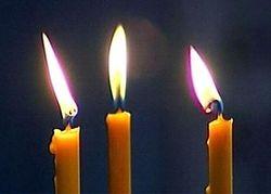 Белый приворот и церковные свечи