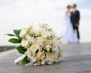 Свадьба, букет невесты