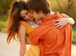 Любовь парня и девушки